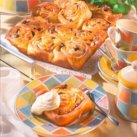 Rosettenkuchen mit Aprikosen (Diabetiker) Rezept