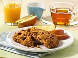 Rosinen Breakfast Cookies Rezept