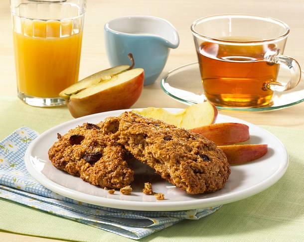 Rosinen Breakfast Cookies Rezept