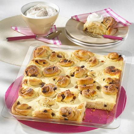 Rosinen-Käsekuchen vom Blech (Diabetiker) Rezept