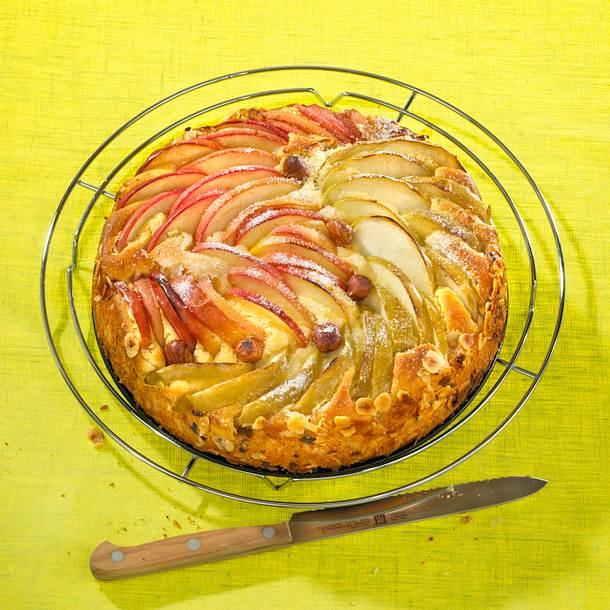 Rot-Grüner-Apfelkuchen Rezept