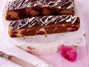 Rot-Schwarzer-Marmorkuchen Rezept