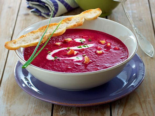 Rote-Bete-Apfel-Suppe Rezept