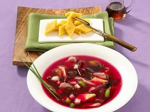 Rote-Bete-Eintopf mit Ahornsirup und Piment Rezept