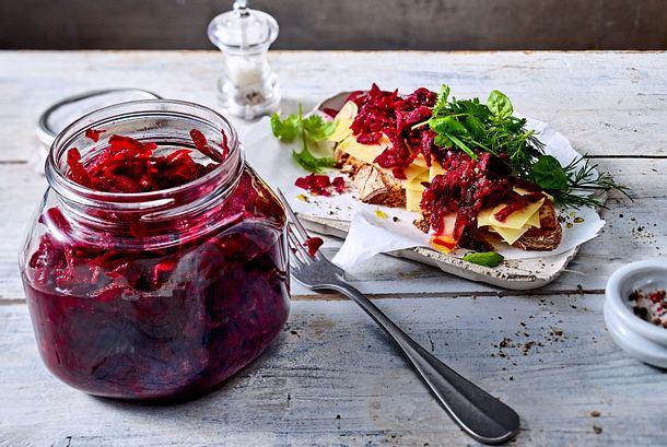 Fix fermentierte Rote Bete Rezept