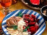 Rote Bete-Gemüse mit Lammkoteletts Rezept