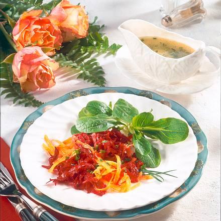 Rote Bete-Möhren-Salat Rezept