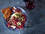 Rote-Bete-Rotkohl-Tatar Rezept