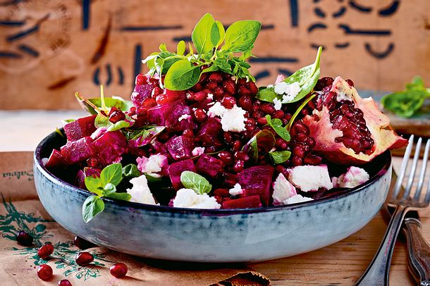 "Rote-Bete-Salat ""Granate"" Rezept"