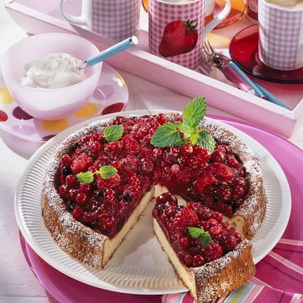 Rote Grütze-Kuchen Rezept