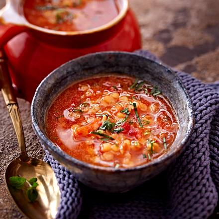 Rote Linsensuppe Rezept