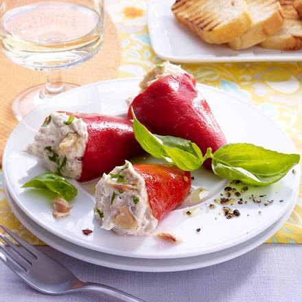 Rote Spitzpaprika mit Sardinencreme Rezept