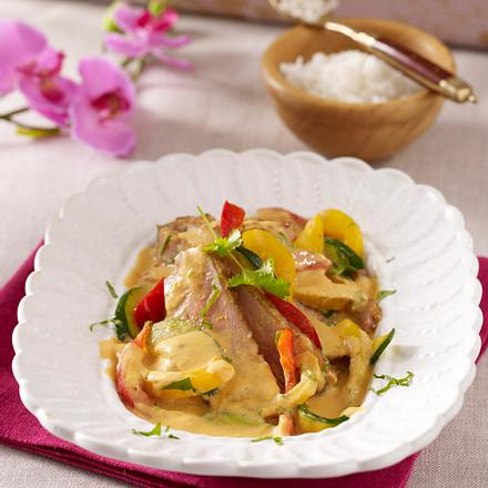 Rotes Enten-Curry Rezept