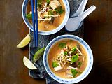 Rotes Thai-Curry mit Tofu Rezept