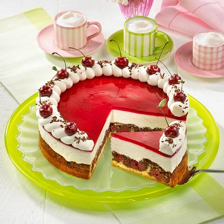 Rotkappchen Torte Mit Kirschen Rezept Lecker