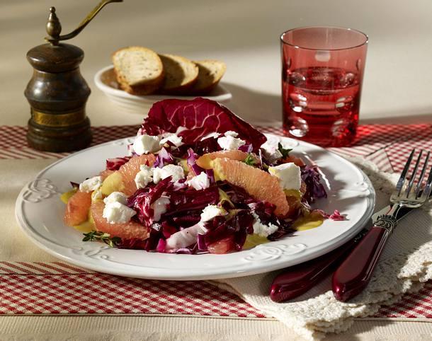 Rotkohl-Grapefruit-Salat Rezept