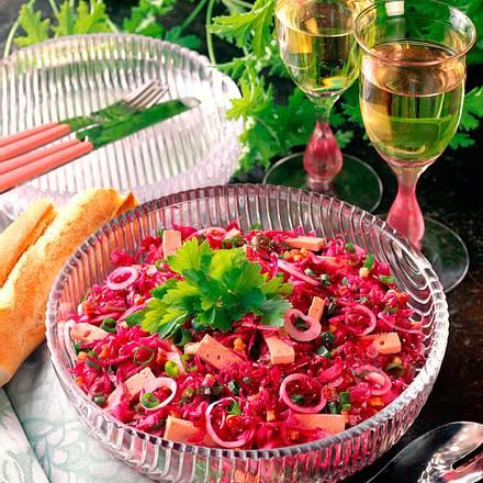 Rotkohl-Salat Rezept