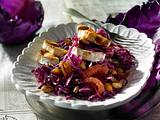 Rotkohlsalat mit Grapefruit und Ziegenkäse Rezept