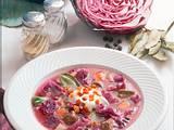 Rotkohlsuppe mit Rindfleisch Rezept
