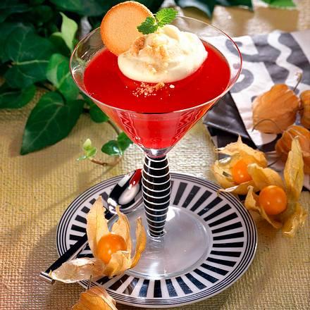 Rotwein-Orangengelee Rezept