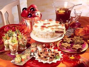 Rotweinpunsch mit Tee und Orangensaft Rezept