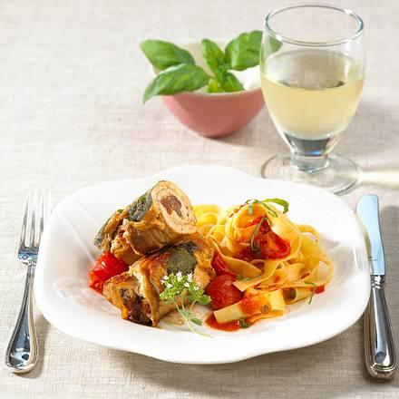 Rouladen auf italienische Art Rezept