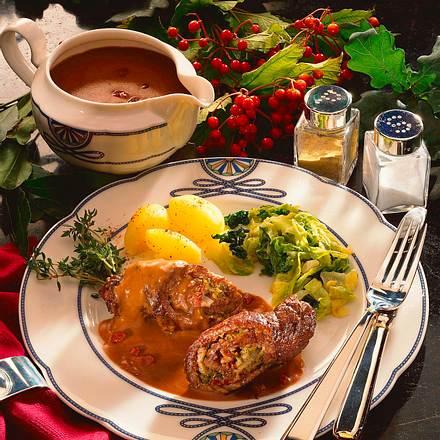Rouladen in Burgundersoße Rezept