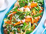 Ruck-zuck-Salat mit Linsen Rezept