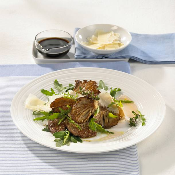 Rucola-Austernpilz-Salat Rezept