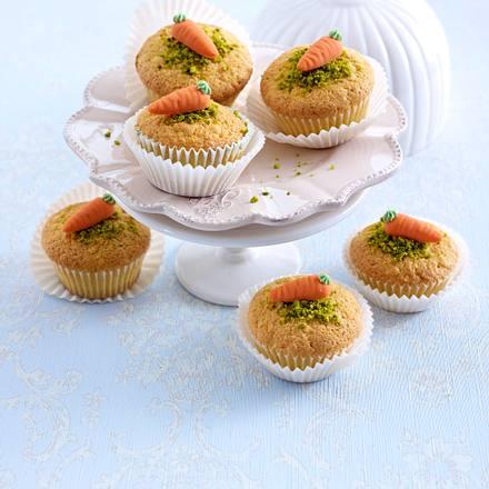 Rübli-Marzipan-Muffins Rezept