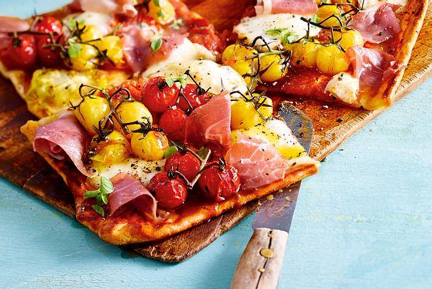 Rückkehr der Tomatenpizza Rezept