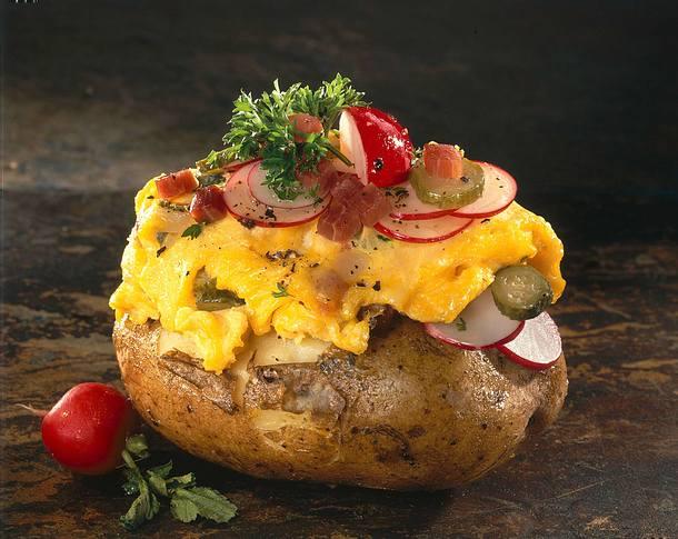 Rührei-Kartoffel Rezept