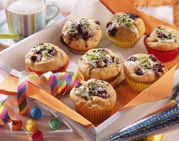 Rumtopf-Muffins Rezept