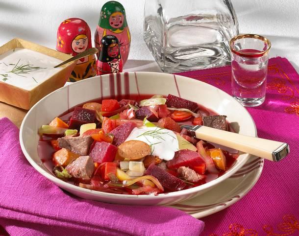 Russischer Borschtsch Rezept