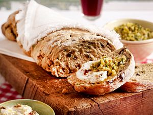 Rustikales Oliven-Ciabatta Rezept