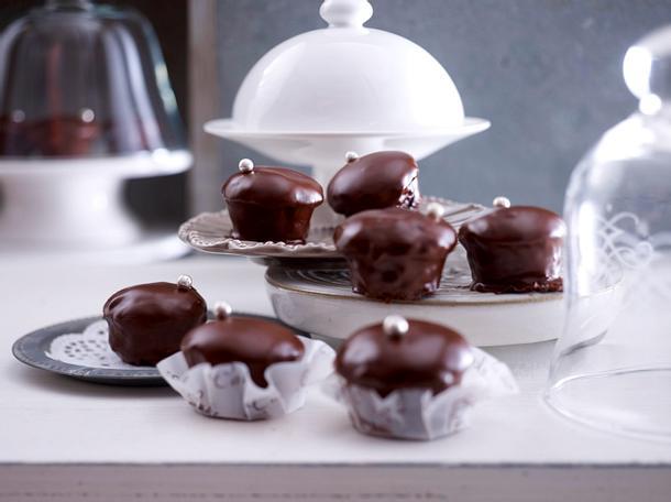 Sacher-Mini-Muffins Rezept