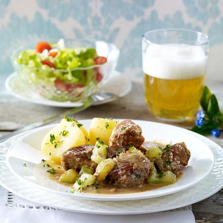 Sächsisches Senffleisch Rezept