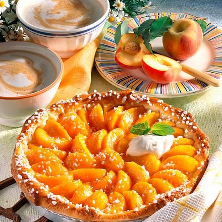 Saftige Pfirsich-Tarte Rezept