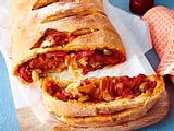 Saftige Pizzarolle Rezept
