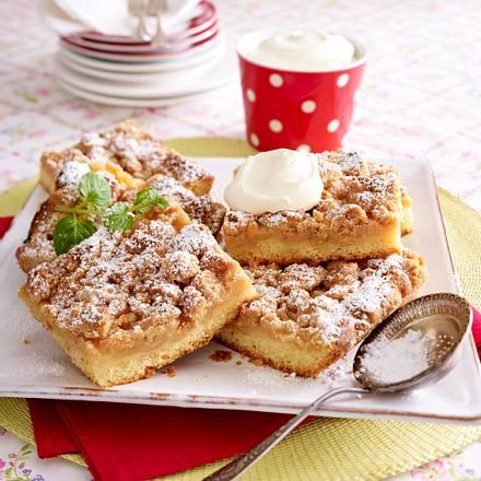 Saftiger Apfel Streuselkuchen Rezept Lecker