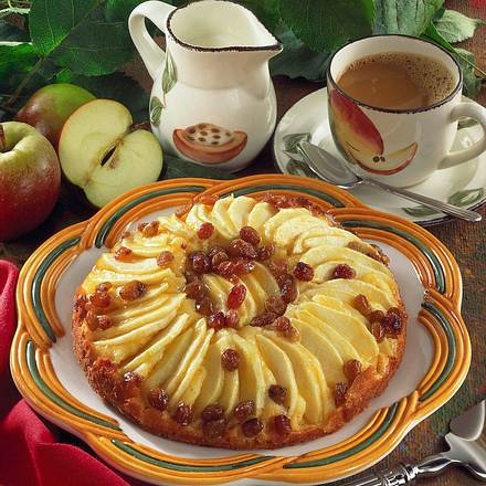 Saftiger Apfelkuchen Rezept