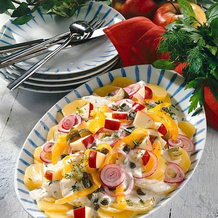 Saftiger Kartoffelsalat Rezept