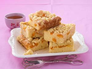 Saftiger Mandarinen-Streuselkuchen vom Blech Rezept