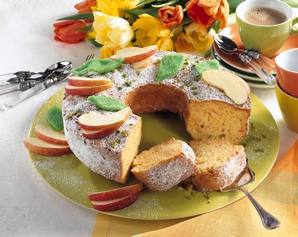 Saftiger Marzipan-Möhrenkuchen Rezept