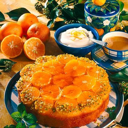 Saftiger Orangenkuchen Rezept