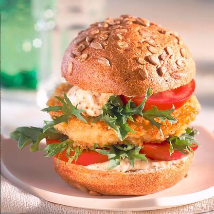 Saftiger Veggi-Burger Rezept