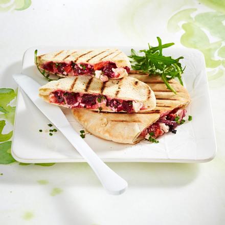 Saftiges Gemüsesandwich Rezept