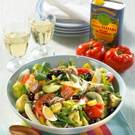 Salade Niçoise Rezept