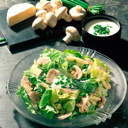 Salat mit Camembert Rezept