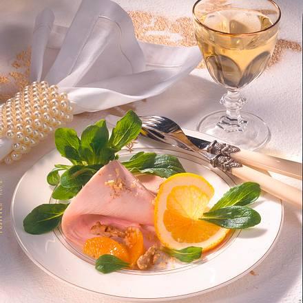 Salat mit Putenfleisch Rezept